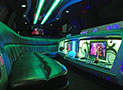 MKT Limousine White led ceiling picture