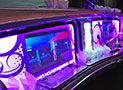 MKT Limousine White amazing lights picture