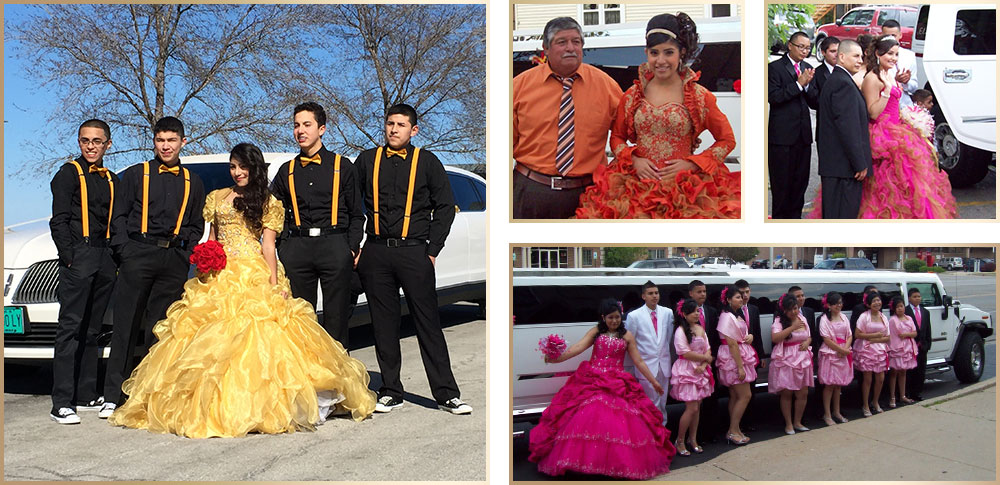 elite chicago limo quinceanera customers