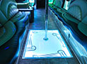 Bellagio Party Bus comfy seats picture