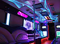 Bellagio Party Bus amazing lights picture