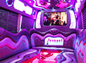 Chrome Party Bus Interior picture