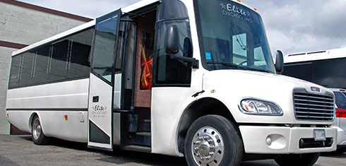 Party Bus Service Rentals in Waukegan