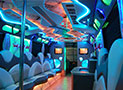 Legacy Party Bus amazing lights picture