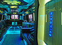 Royal Party Bus Interior picture
