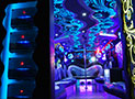 Starry Night Party Bus Interior picture